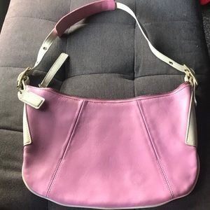 Small Pink Coach Bag